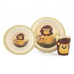 Vaisselles en bambou - Lion