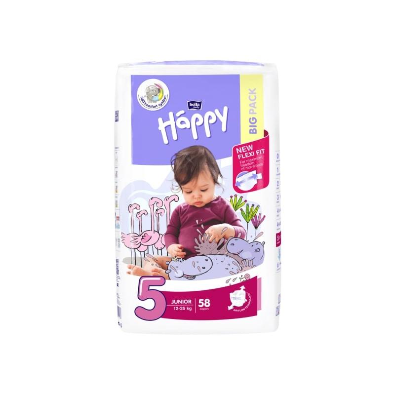 Couches bébé Happy Taille 5 - 58 couches