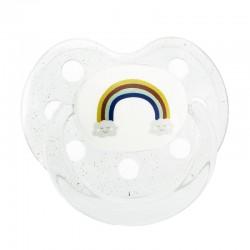 Sucette en silicone - Le Biberon Français - Rainbow