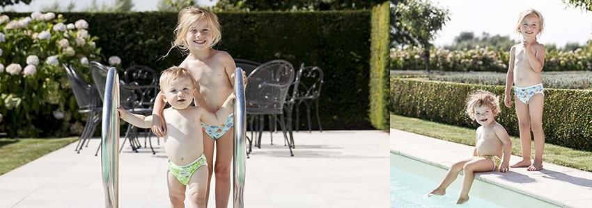 Couches maillots de bain lavable | Pour bébé | Calichou