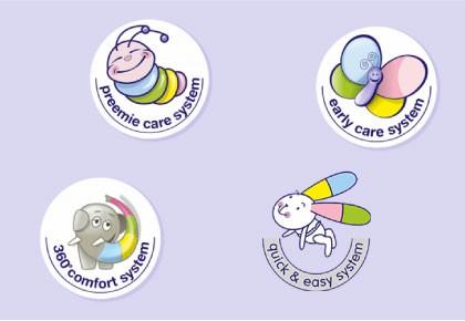 Des couches adaptées à tous les âges de bébé